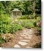 Lush Landscaped Garden Metal Print
