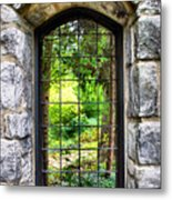 Lushness Beyond The Walls Metal Print