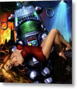 Lust In Space Metal Print