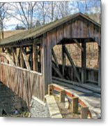 Luther Mills Bridge Metal Print