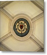 Luther Rose At St Peter And Paul Metal Print