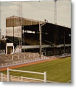 Luton Town - Kenilworth Road - Main Stand East Side 1 - 1970s Metal Print