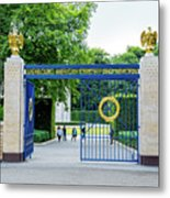 Luxembourg American Cemetery And Memorial Metal Print
