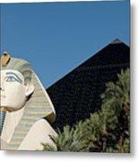Luxor Hotel Las Vegas Metal Print