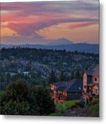 Luxury Homes In Happy Valley Oregon Metal Print