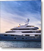 Luxury Yacht Metal Print by Elena Elisseeva
