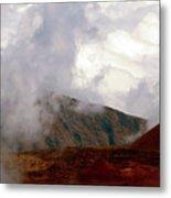 Lying Dormant In The Clouds II- Haleakala Metal Print