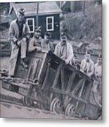 Lykens Valley Miners Metal Print