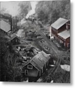 Lykens Valley Mining Metal Print