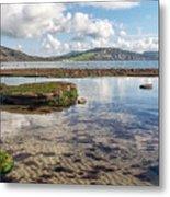 Lyme Regis Seascape 3 - October Metal Print