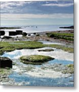 Lyme Regis Seascape 4 - October Metal Print