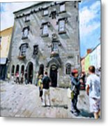 Lynches Castle Galway City Metal Print