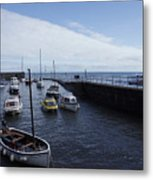 Lynmouth Harbour Metal Print