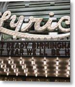 Lyric Theater Birmingham Metal Print