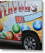 M And M Flavors For The Kids Metal Print