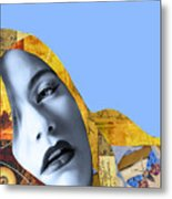 M. Butterfly Metal Print