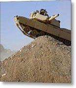M1 Abrams Metal Print