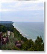 M22 Scenic Lake Michigan Overlook  Metal Print