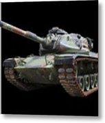 M48a2 Tank Metal Print