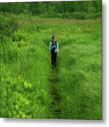 Ma At Section Hiker Metal Print