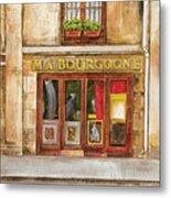 Ma Bourgogne Metal Print by Debbie DeWitt