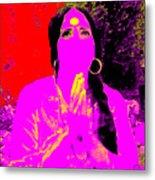 Ma Jaya Sati Bhagavati 16 Metal Print by Eikoni Images