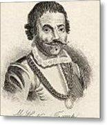 Maarten Harpertszoon Tromp 1598 - 1653 Metal Print