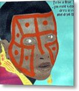 Maasai Metal Print