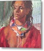 Maasai Pride Metal Print