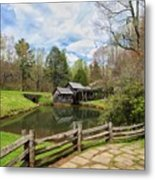 Mabry Mill In The Spring Metal Print
