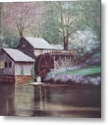 Mabry Mills Metal Print by Charles Roy Smith