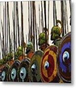 Macedonian Phalanx Metal Print