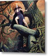 Macha The Irish Goddess Of War Metal Print