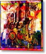 Machine Age-1 Metal Print