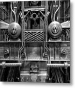 Machine Metal Print