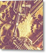 Machine Guns Metal Print