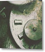 Machinery From The Industrial Age Metal Print