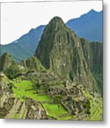 Machu Picchu - Iconic View Metal Print
