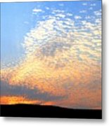 Mackerel Sky Metal Print