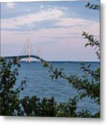 Mackinac Bridge 1 Metal Print
