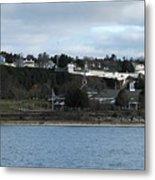 Mackinac Island Panorama Metal Print
