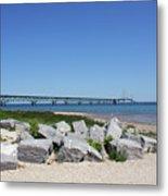 Mackinaw Bridge 2 Metal Print