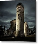 Mackinaw Point Lighthouse Metal Print