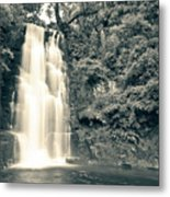 Maclean Falls New Zealand Metal Print