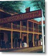 Macomb's Dam Hotel Metal Print