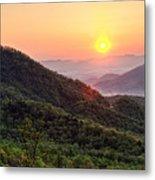 Macon County North Carolina Mountains Metal Print