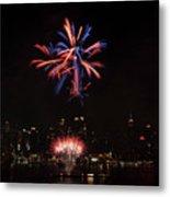 Macy's Fireworks II Metal Print