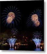 Macy's Fireworks IIi Metal Print