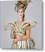 Isabel In Mad Hutter Metal Print