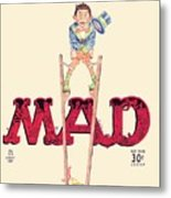 Mad Magazine Cover Metal Print
